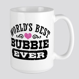 World's Best Bubbie Ever Large Mug