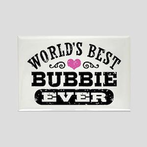 World's Best Bubbie Ever Rectangle Magnet