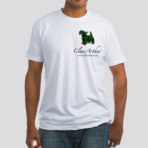 Clan Arthur Scotty Dog Fitted T-Shirt