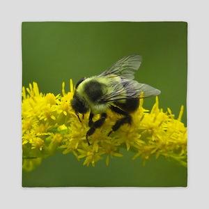 Bumble bee Queen Duvet