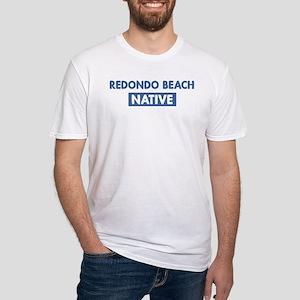 REDONDO BEACH native Fitted T-Shirt