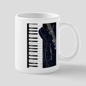 Jazz Instrument Background Mugs