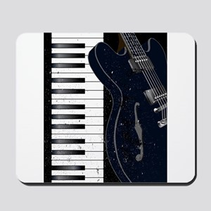 Jazz Instrument Background Mousepad