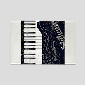 Jazz Instrument Background Magnets