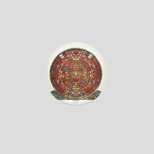 Mayan Calendar . Mini Button