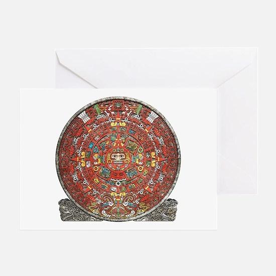 Mayan Calendar . Greeting Card