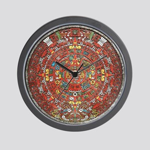 Mayan Calendar . Wall Clock