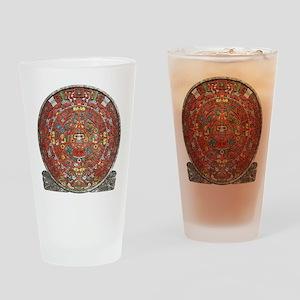 Mayan Calendar . Drinking Glass