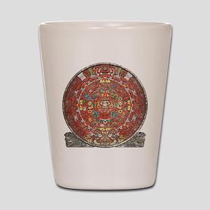 Mayan Calendar . Shot Glass