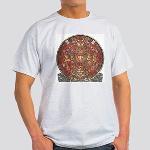 Mayan Calendar . Light T-Shirt