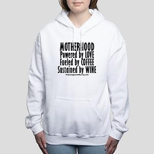 Motherhood Quote Women's Hooded Sweatshirt