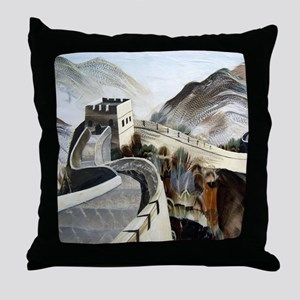 Chinese Great Wall Throw Pillow