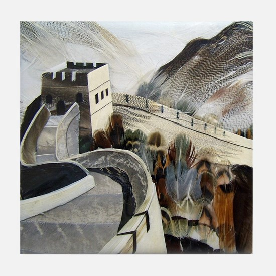 Chinese Great Wall Tile Coaster