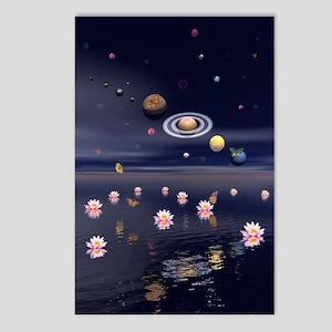 Lotus Universe Postcards (Package of 8)