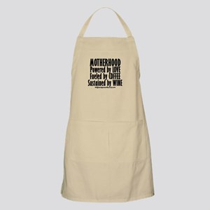 Motherhood Quote Apron