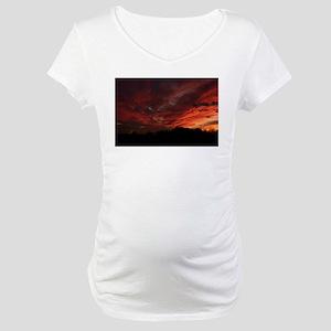Central Pennsylvania - Sunset Maternity T-Shirt