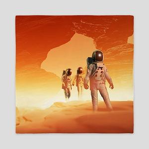 Mars Explorers Queen Duvet