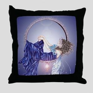 Sleeping Fairy Throw Pillow