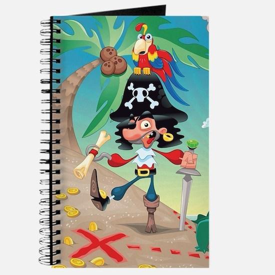 Pirate Cartoon Journal