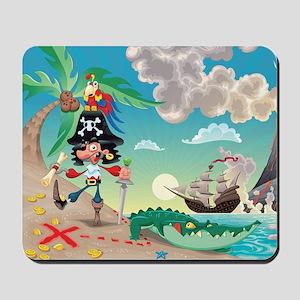 Pirate Cartoon Mousepad