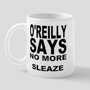 NO MORE SLEAZE Mug