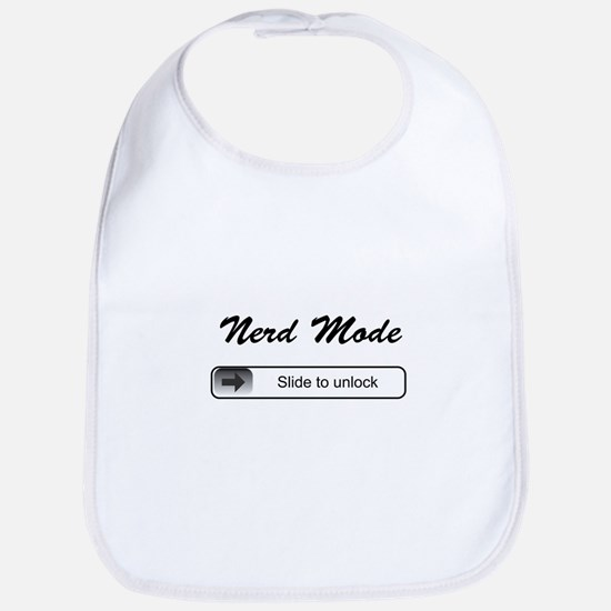 Nerd Mode - Slide to unlock Bib
