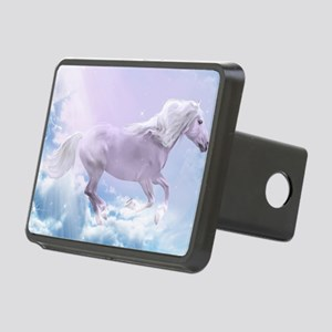White Magic Mare Rectangular Hitch Cover