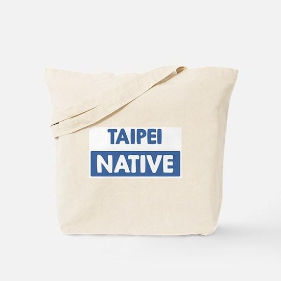 TAIPEI native Tote Bag