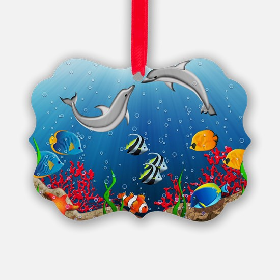 Tropical Underwater World Ornament