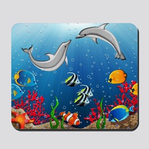 Tropical Underwater World Mousepad