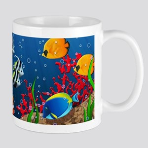 Tropical Underwater World Mug
