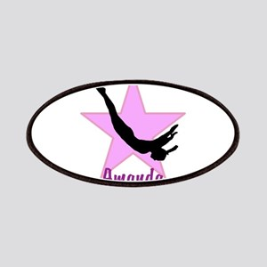 Pink Trampoline Star Patch