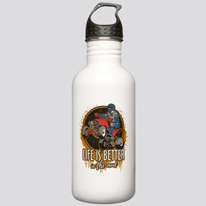 ATV Offroad Life is Be Stainless Water Bottle 1.0L