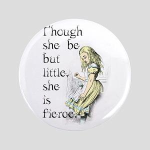 Alice in Wondeerland Button