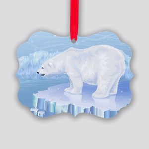 Polar Bear Picture Ornament
