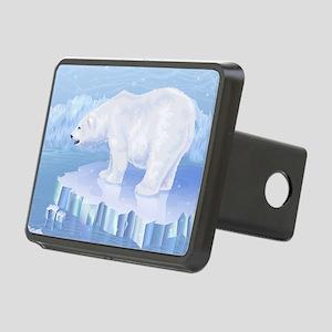 Polar Bear Rectangular Hitch Cover