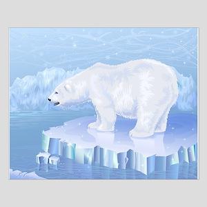 Polar Bear Small Poster
