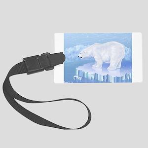 Polar Bear Large Luggage Tag