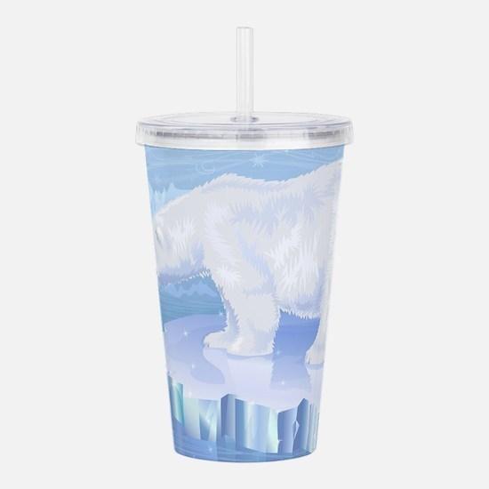 Polar Bear Acrylic Double-wall Tumbler