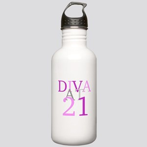 Diva At 21 Stainless Water Bottle 1.0L