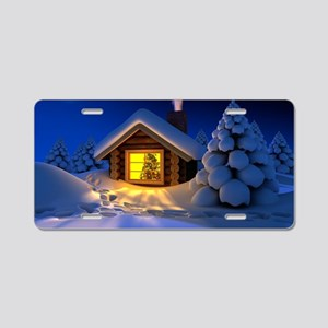 Happy New Year Aluminum License Plate