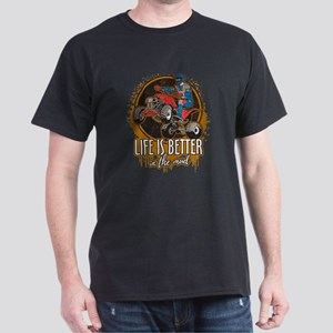 ATV Offroad Life is Better In the Mud Dark T-Shirt