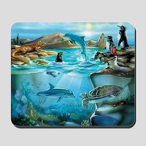 Galapagos Animals Mousepad