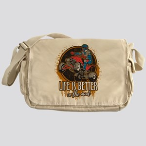 ATV Offroad Life is Better In the Mu Messenger Bag