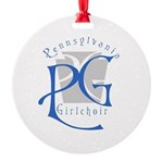 Pg Round Ornament