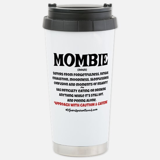 MOMBIE - CAFFEINE Stainless Steel Travel Mug