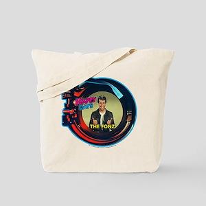 Happy Days Jukebox Fonz Tote Bag