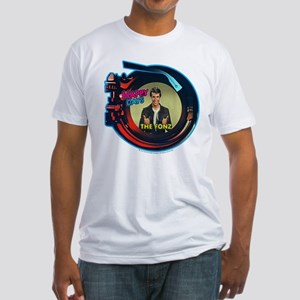 Happy Days Jukebox Fonz Fitted T-Shirt