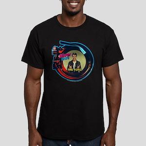 Happy Days Jukebox Fon Men's Fitted T-Shirt (dark)