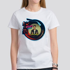 Happy Days Jukebox Fonz Women's T-Shirt